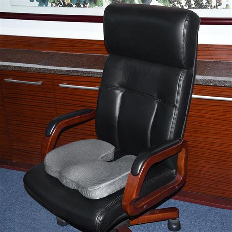 yeshom memory foam coccyx cushion car office chair seat