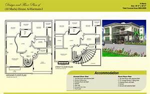 Beautiful 10 Marla House Maps Designs