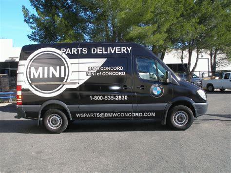 Bmw Graphics For A Sprinter Van  Concord, Ca