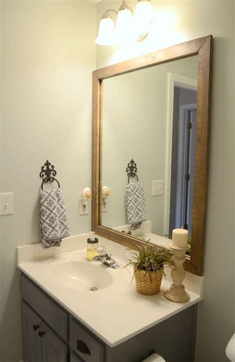 alluring reclaimed wood wall mirror west elm bathroom