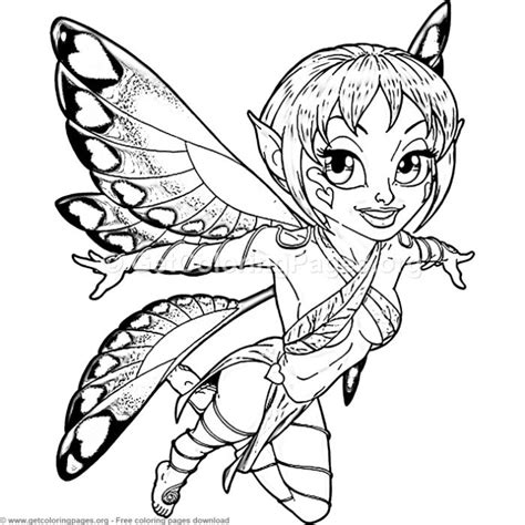 creative art  fairy butterfly coloring pages getcoloringpagesorg