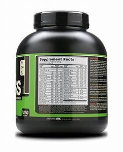 Optimum Nutrition Serious Mass Gainer Protein Powder  Chocolate  6 Pound 190283599800