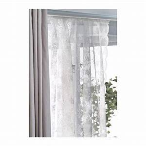 net curtains 1 pair alvine spets off white lace With lace curtains ikea
