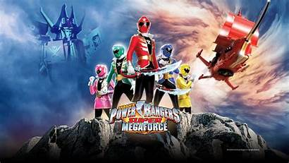 Rangers Megaforce Power Super Background Wallpapers Wall