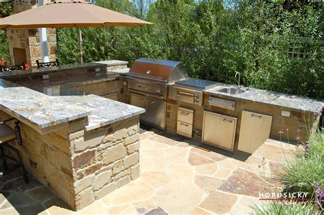small kitchen design ideas with island outdoor kitchens and bbq grills horusicky construction