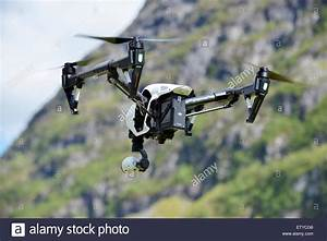 Drone With Camera Flying Stock Photo, Royalty Free Image ...