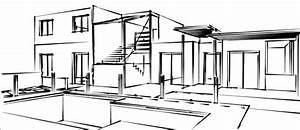 maison moderne dessin waaqeffannaaorg design d With beautiful plan de maison design 1 lintemporel dessin design architecture
