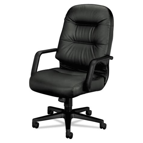 hon 174 2090 pillow soft series executive leather high back