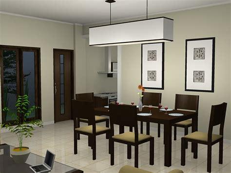 contoh gambar desain ruang makan minimalis kamar minimalis