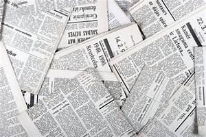 Decora de forma original con papel de periodico - CanalHOGAR