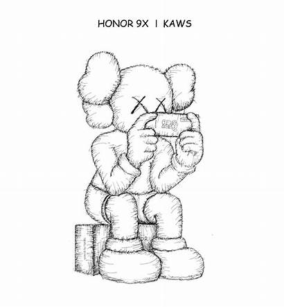 Kaws 9x Honor Collaboration Launch China July