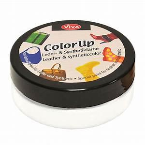 Peinture Pour Cuir : peinture pour cuir et mati res synth tiques color up blanc 50 ml ~ Maxctalentgroup.com Avis de Voitures