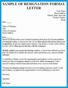 Resignation Letter Writing A Formal Letter Of Resignation Professional Resignation Letter Format 11554 25 Best Ideas About Resignation Letter On Pinterest Job Free Sample Resignation Letters Short And Sweet