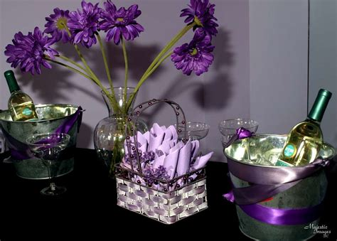purple baby shower party ideas photo