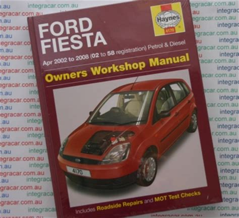 ford fiesta petrol diesel   haynes workshop manual