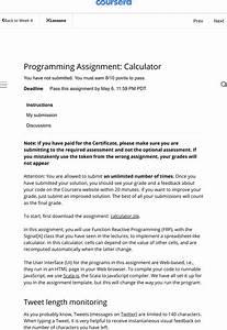 Instructions Calculator