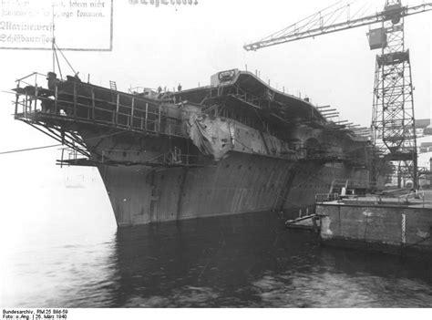 graf zeppelin germanys  aircraft carrier
