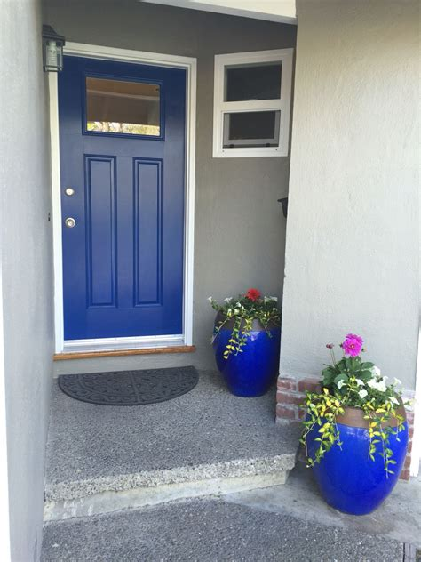 front door color dignity blue sherwin williams home