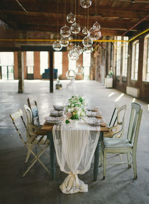 neutral wedding inspiration   glass factory