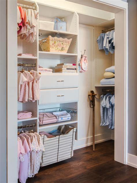 Custom Kid Closet Design For Twin Babies