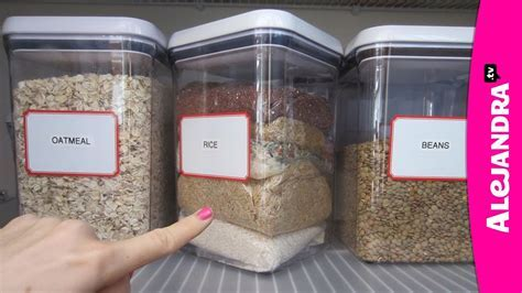 Organizational Tips: Rice Storage in the Kitchen Pantry