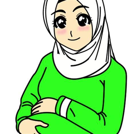 1600 x 1228 jpeg 71 кб. 57+ Gambar Kartun Muslim Ibu Hamil, Koleksi Baru!