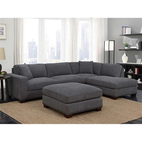 pin  deanna frisby    home fabric sectional