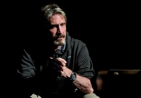 John Mcafee China, President Obama, And The First