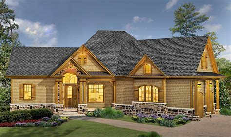 house plans classic hip roofed cottage with options 15886ge