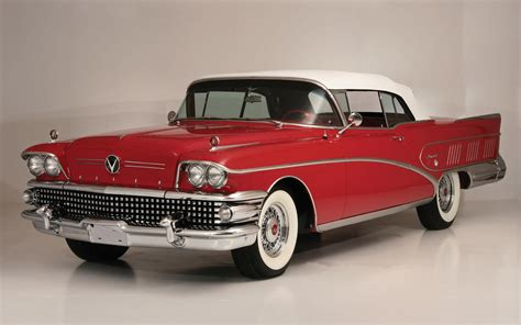 1958 Buick Convertible Limited Full Hd Wallpaper And