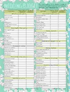 wedding checklist pdf 5 wedding expenses list procedure template sle