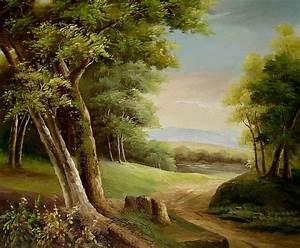 Famous Landscape Oil Painting Reproductions | Paintings ...