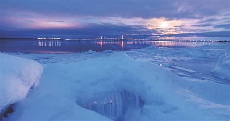 dazzling northern michigan winter travel ideas