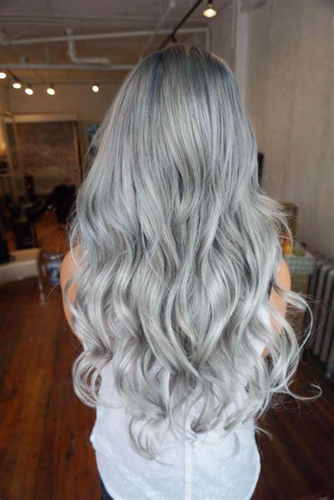 Formula Silver Blue Melt Gray Hair Silver Blue Hair