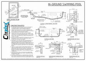 Swimming Pool Drawing Details Pdf At Paintingvalley Com