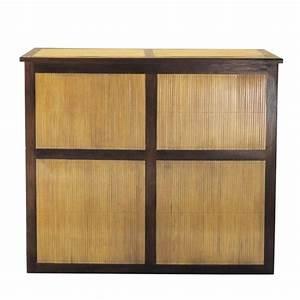 Meuble Bar Maison Du Monde : meuble de bar bamboo maisons du monde ~ Nature-et-papiers.com Idées de Décoration
