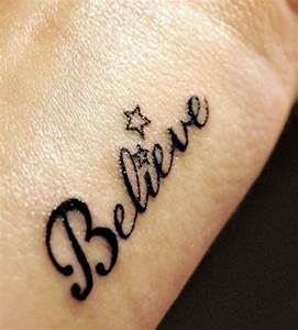 50 Inspirational and Meaningful One Word Tattoos (2017 ...