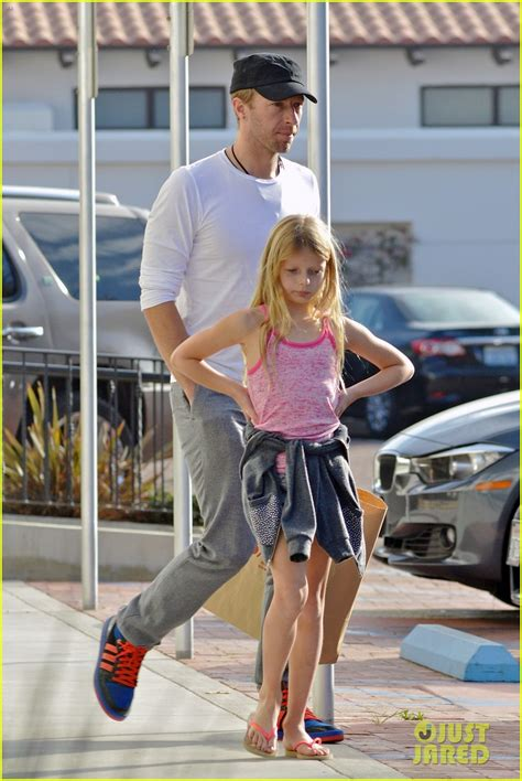 chris martin father daughter day  apple photo