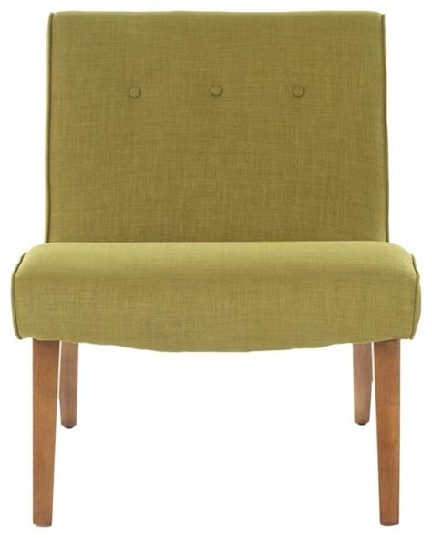 mandell chair yellow gold contemporary armchairs and