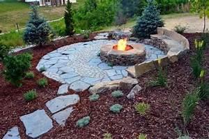 Top, 50, Best, Fire, Pit, Landscaping, Ideas