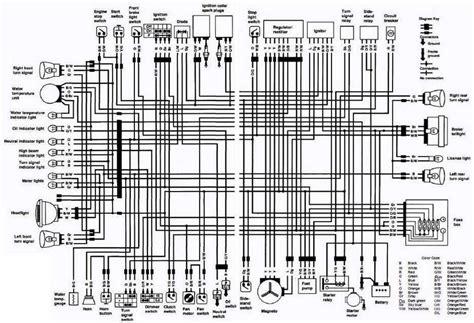 Suzuki Wiring Diagram 1997 by Suzuki Vs800 Intruder Motorcycle 1992 Complete Electrical