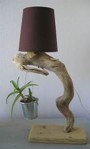 Lampes Bois Flotté : lampes en bois flott cr ations au fil de l 39 eau ~ Melissatoandfro.com Idées de Décoration
