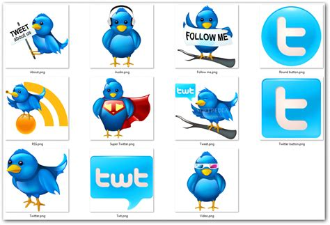 Download Free Large Twitter Icons 2013.2