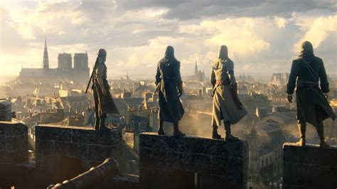 ubisoft makes assassin s creed unity free following notre