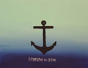 I Refuse To Sink Painting by Megan Pelfrey
