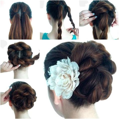 easy twist styles for hair 17 best images about hair styles on updo hair 8131