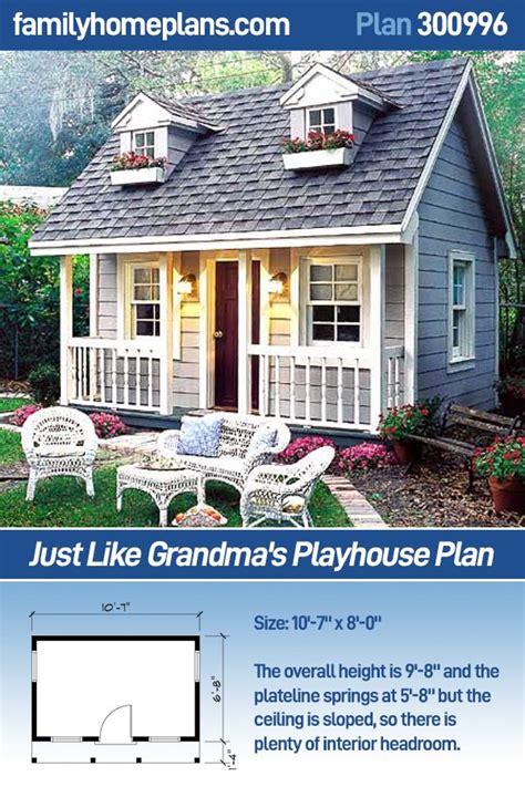 grandmas playhouse plan