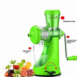 Magikware Super Deluxe Fruit  U0026 Vegetable Manual Juicer