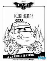 Dynamite Coloring Disney Planes Pages Printable Rescue Fire Plane Coloriage Hellokids Printables Print sketch template