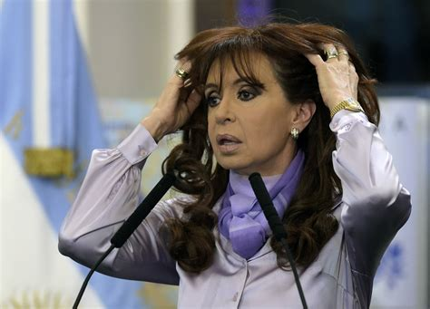 Cristina fernández has in the past been compared to eva perón, argentina's legendary first lady who formed a formidable ruling. Argentine President Cristina Kirchner in Conspiracy Theory ...